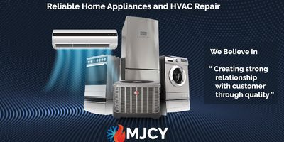 Avatar for MJCY HVAC AIR CONDITIONING,HEATING & APPLAINES