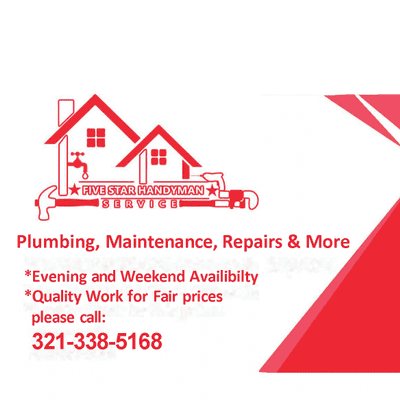 Avatar for Five Star Handyman Service
