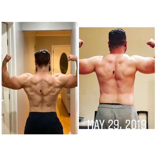 5 month transformation!