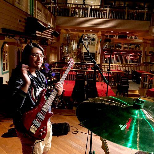 Sound check- Crystal Palace