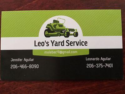 Avatar for Leo's Yard Service