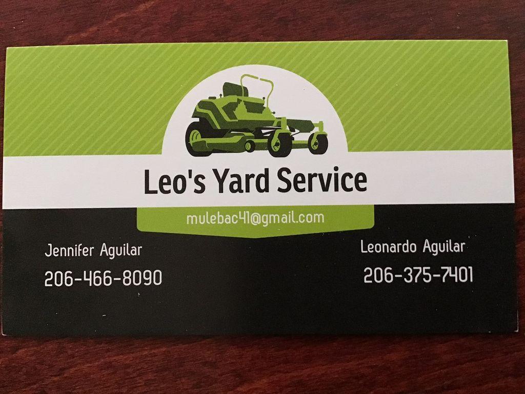 Leo's Yard Service