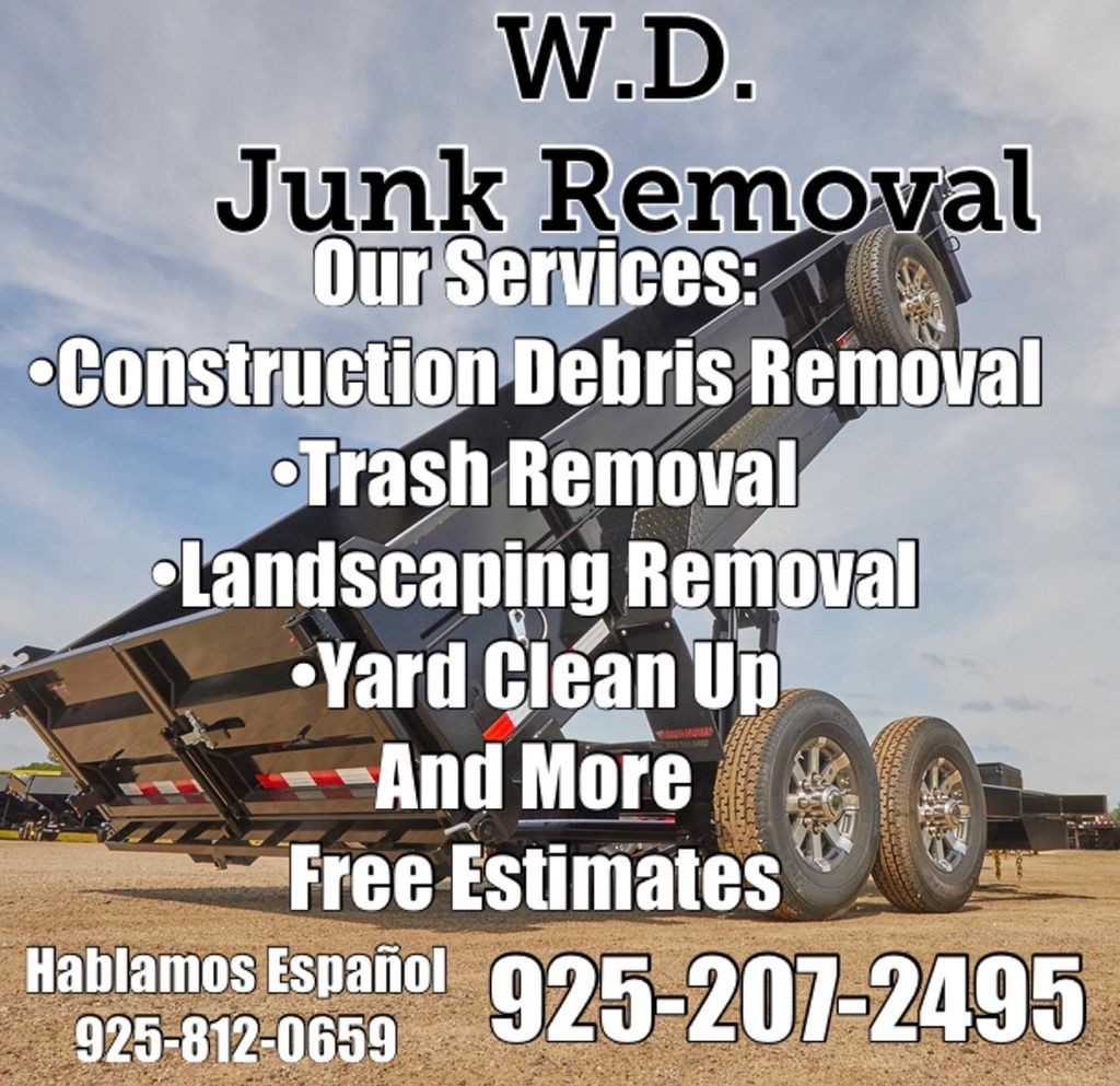 W.D. Junk Clean Up and More