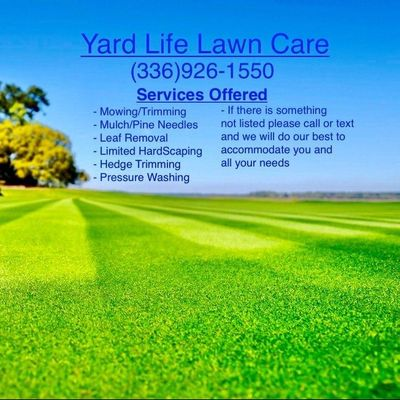 Avatar for Yard life lawn care