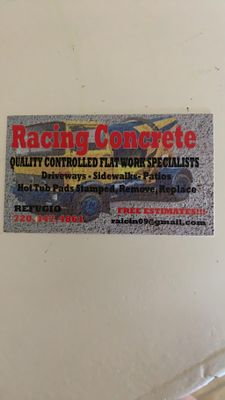 Avatar for Racing concrete