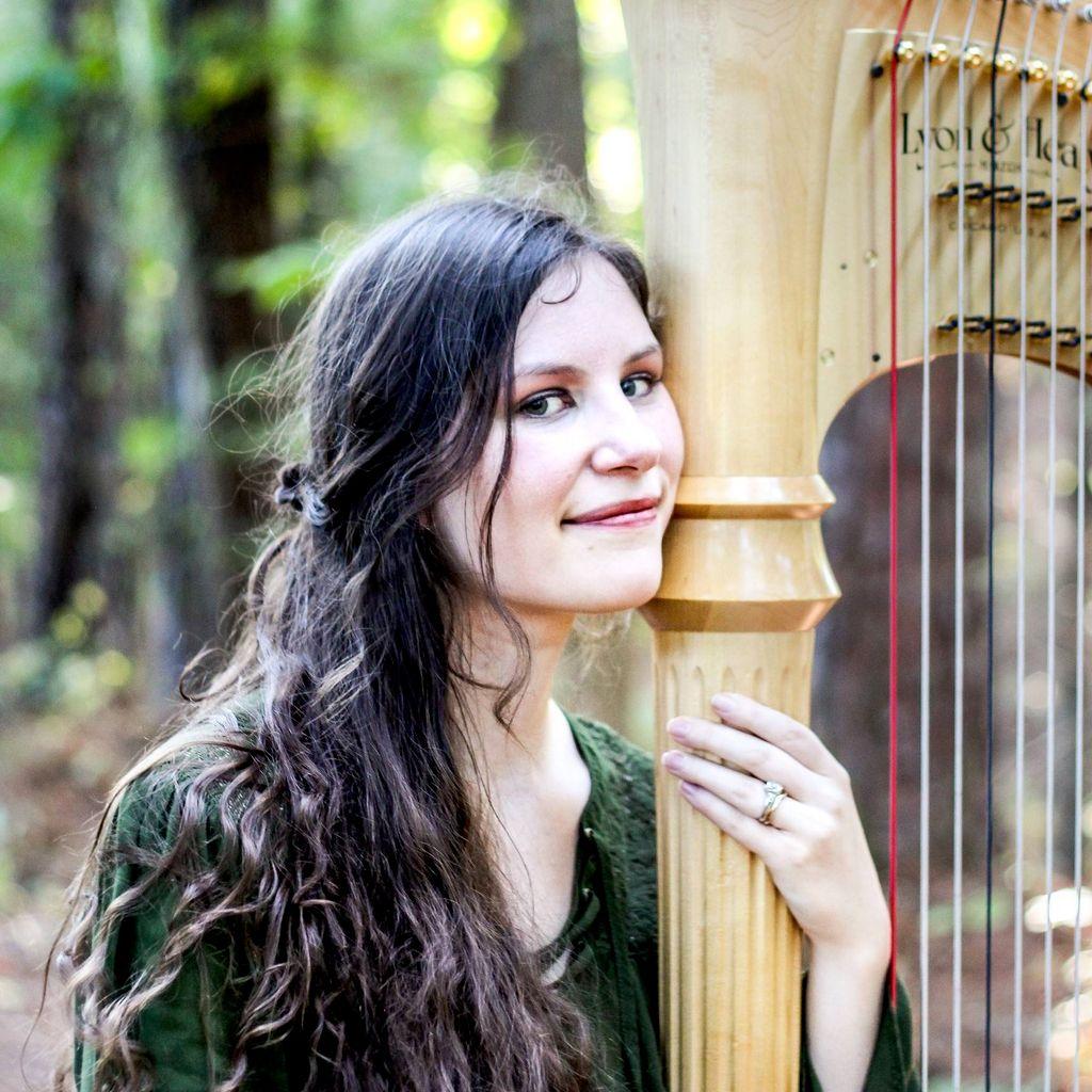Harpist Meg