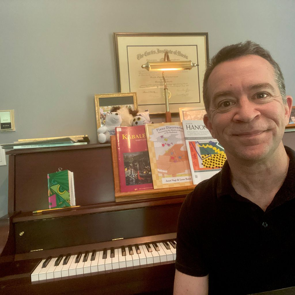 Mr Mark's Piano Studio