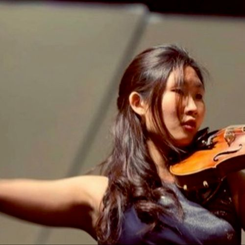 Hannah, violin & piano teacher. See the teacher page on our website.