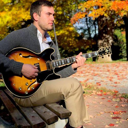 Dan, guitar, bass guitar, & ukulele teacher. See the teacher page of our website.