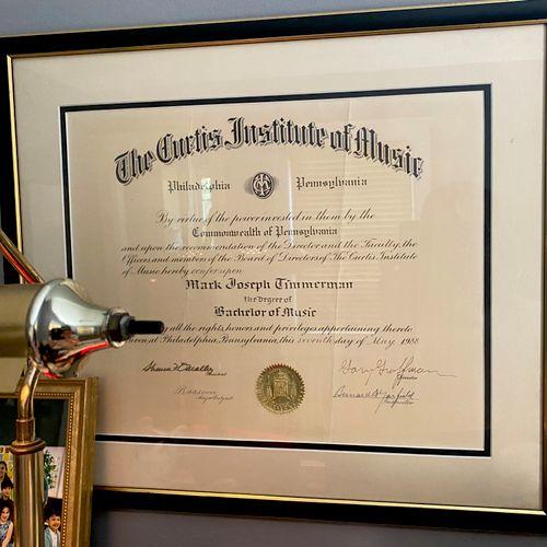 Curtis Institute graduate