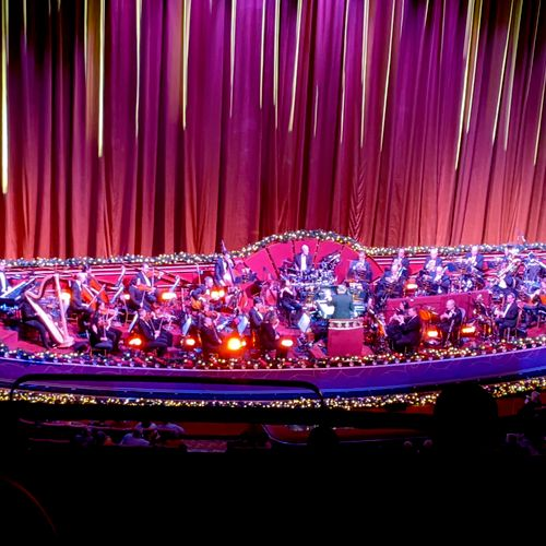 Performing with the Radio City Christmas Spectacular Orchestra
