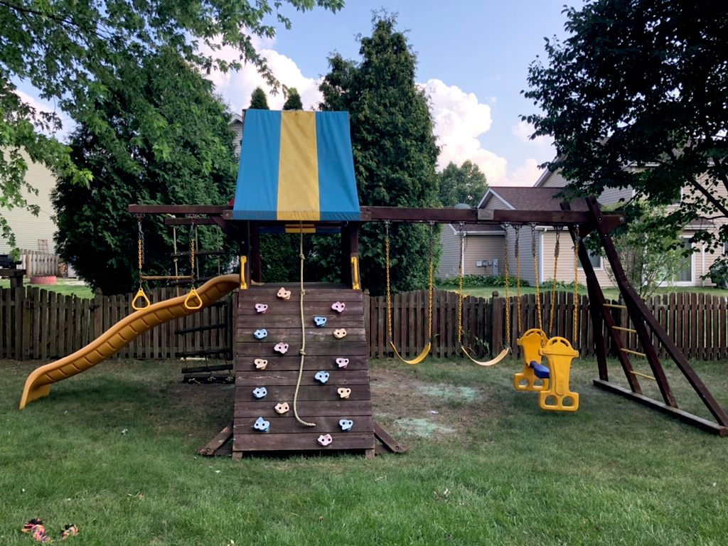 Relocated a Play set