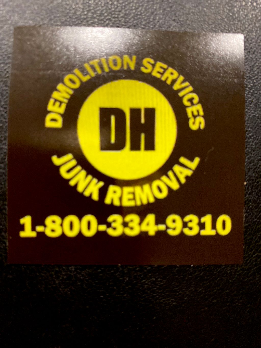 DH Demolition & Junk Removal LLC