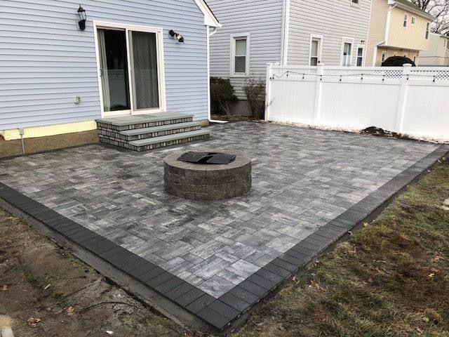 New pavers & stesp