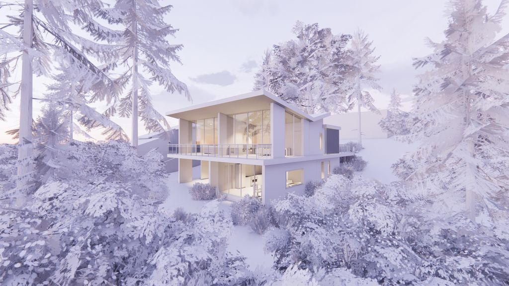 Concept Design for Forest Home and ADU