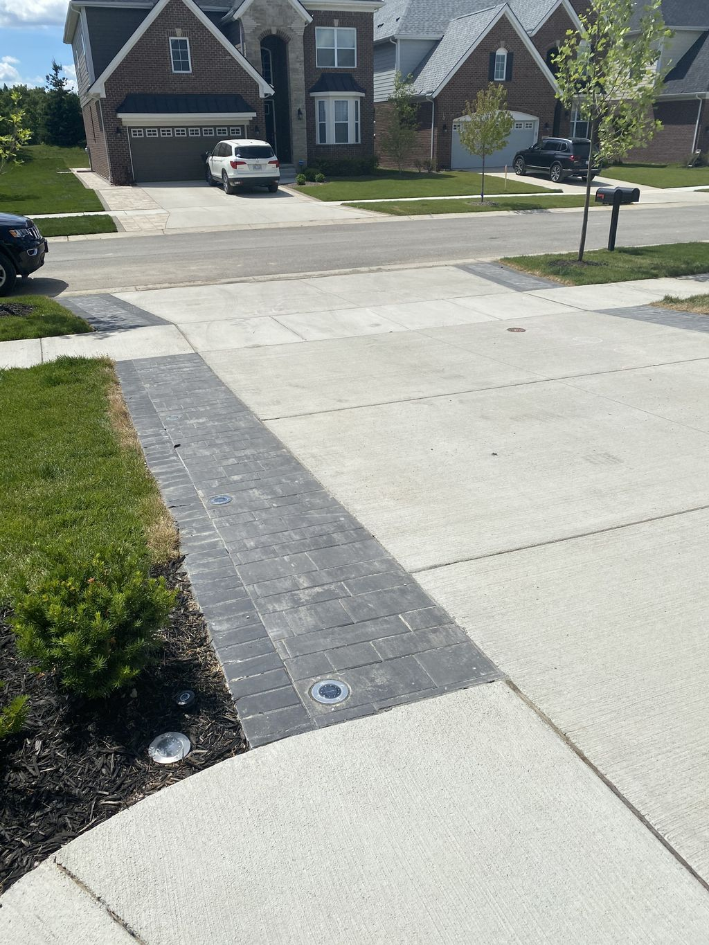 Driveway and path extension