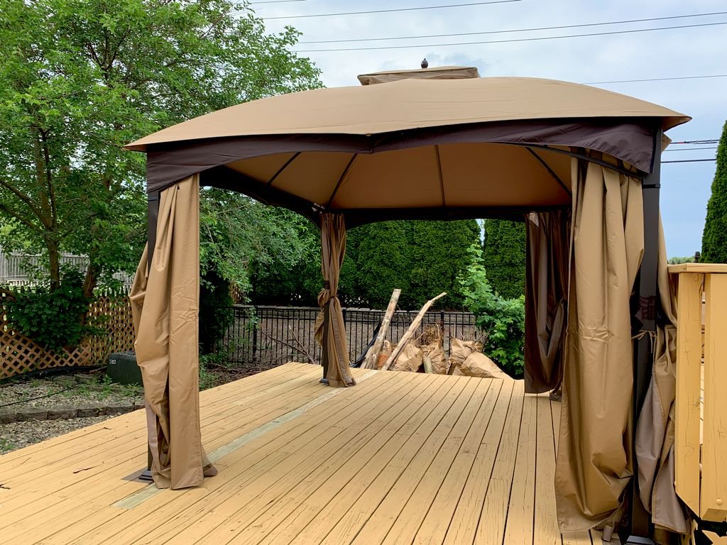 Deck canopy assembly