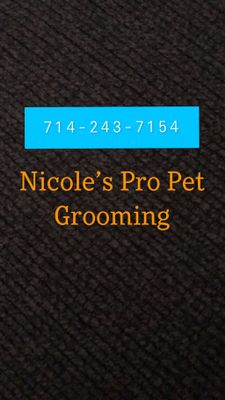 Avatar for Nicoles Professional Pet Grooming