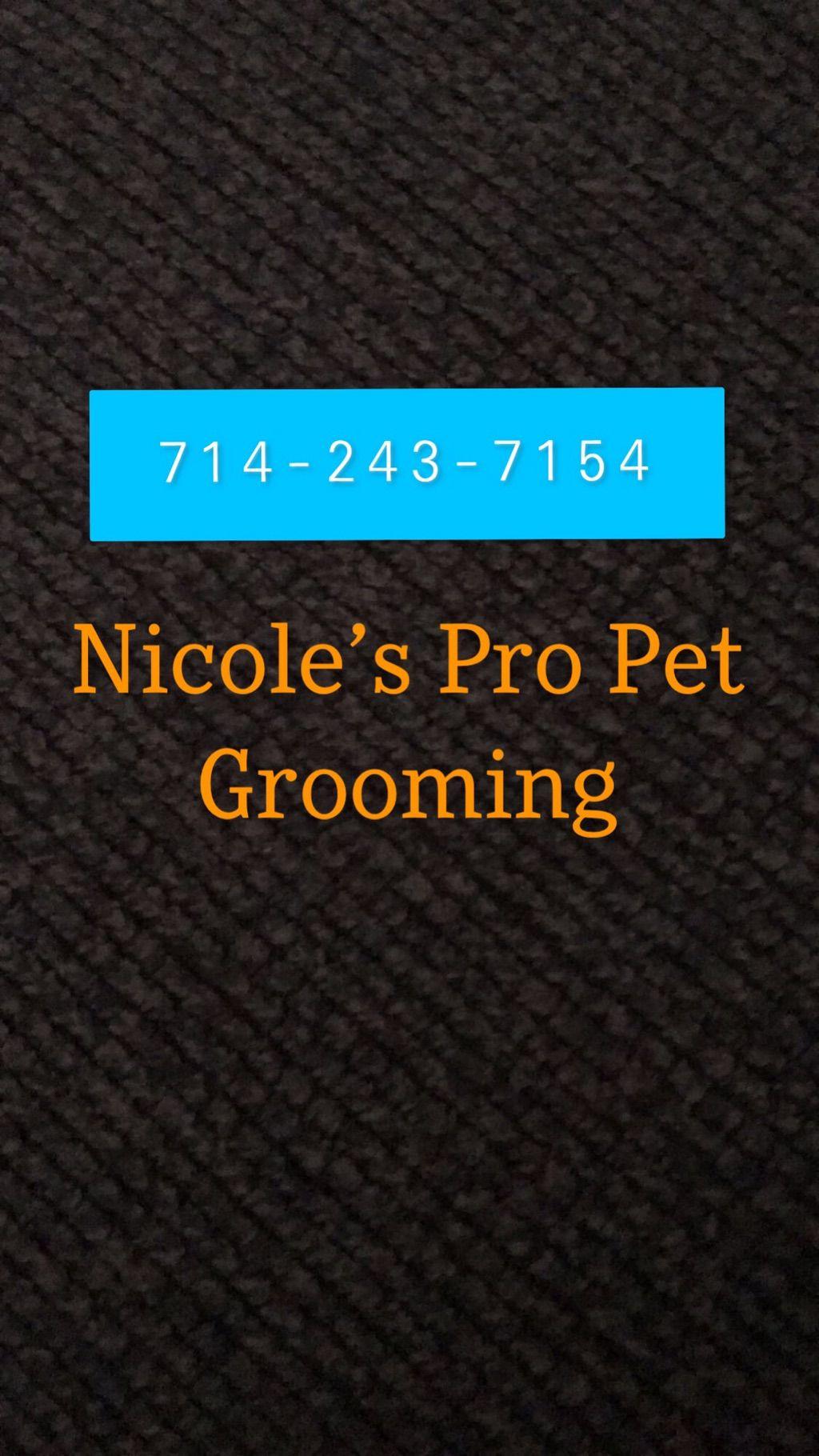 Nicoles Professional Pet Grooming