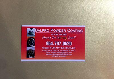 Avatar for Balpro Powder Coating, Inc
