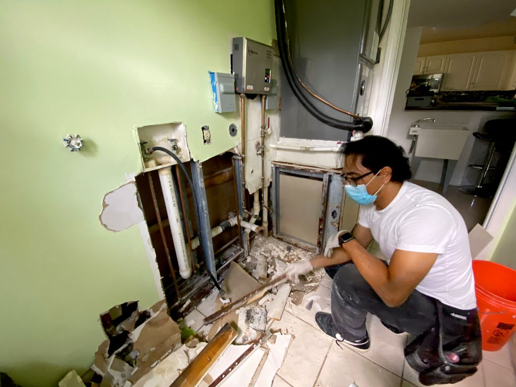 laundry remodeling