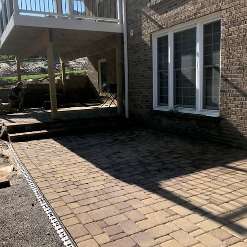 Hardscapes, and trex deck