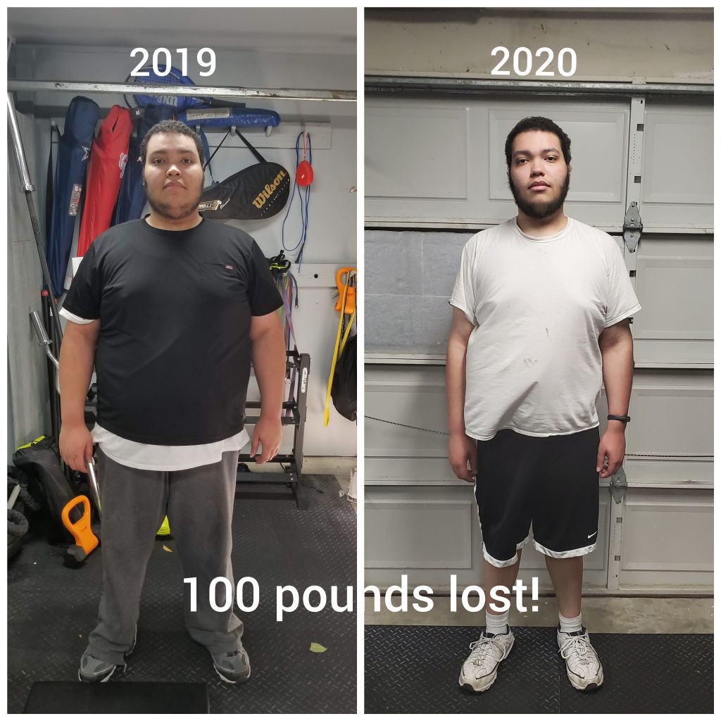 Weight Loss Transformation 100lbs plus
