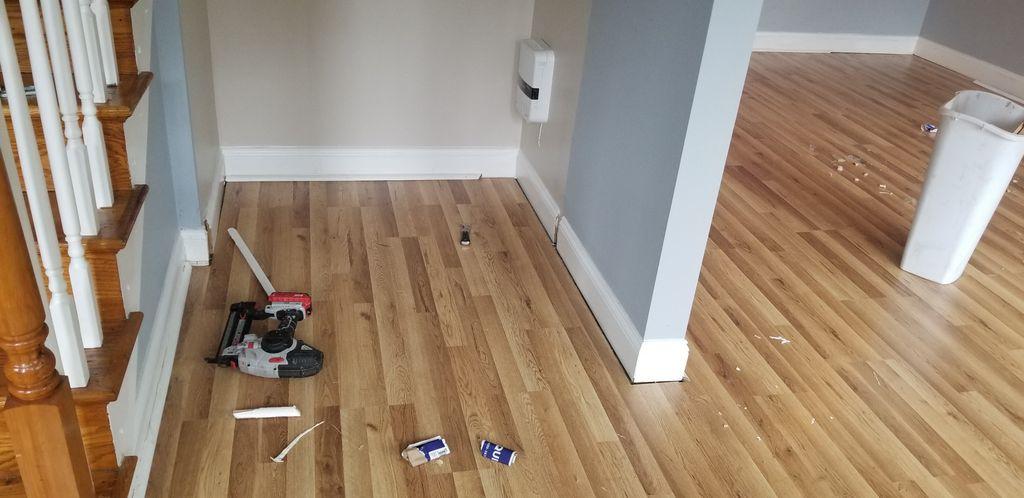Enginering harwood floor