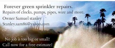Avatar for Forever Green Sprinkler Repairs & Maintenance.