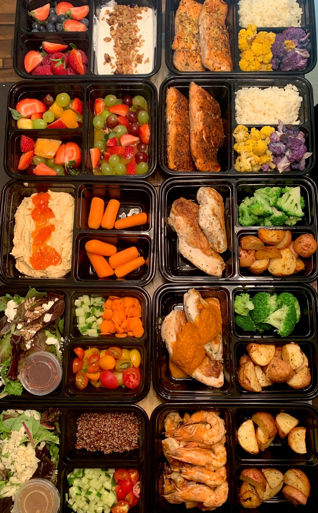 Meal Prep-Single Person Plan- Weekly Cost