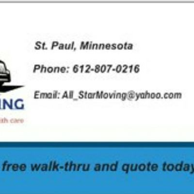 Avatar for All Star Moving LLC