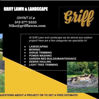 Avatar for Griff Lawn and Landscape