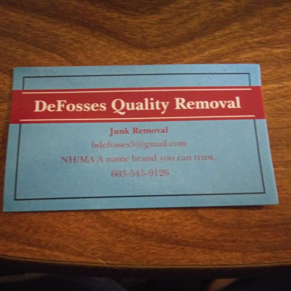 DeFosses Quality Removal