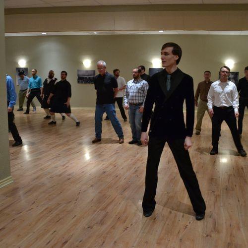 Waltz Group Class--the gentlemen