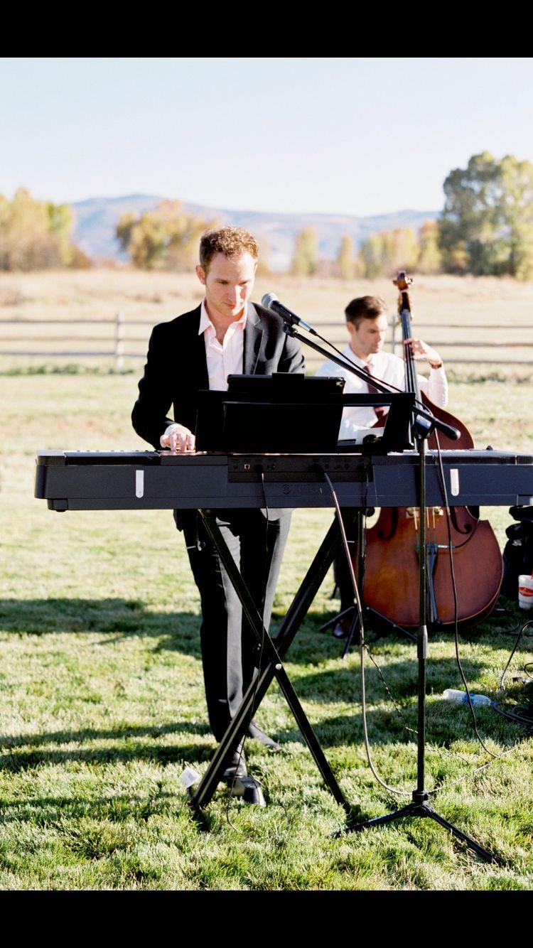 Mountain Wedding With Jazz Trio