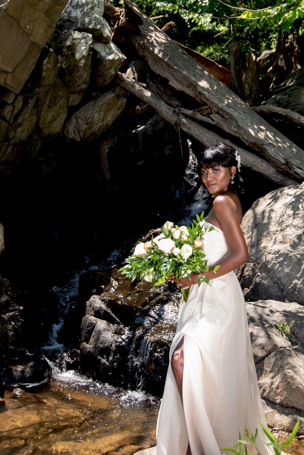 Great Falls styled wedding shoot
