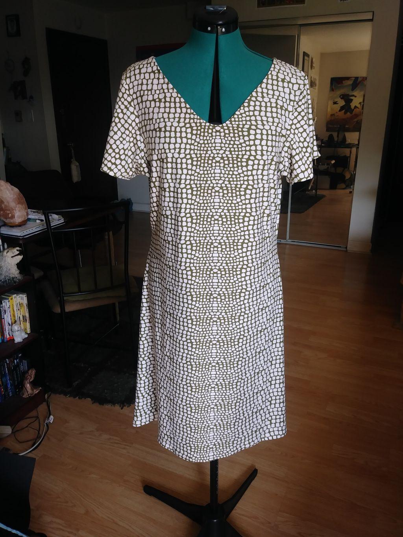 Simple Square Dress