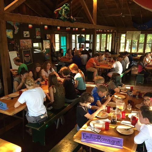 Lunch at Lago Del Bosco