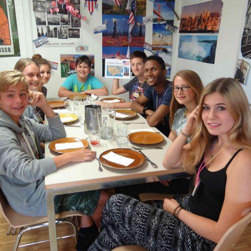English immersion in Switzerland!