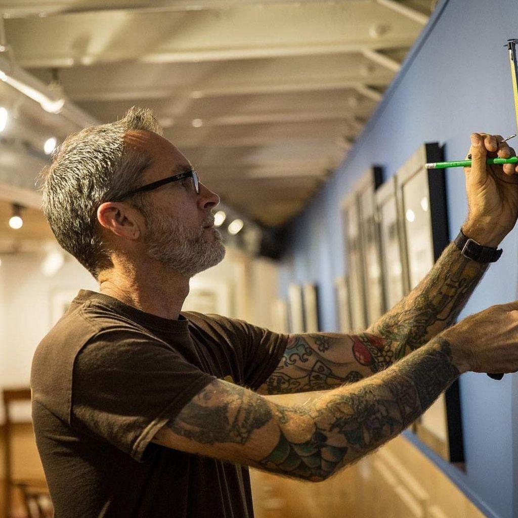 Alan Clark Art Installation
