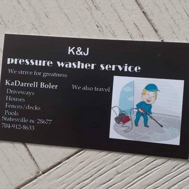 K&J pressure washer service