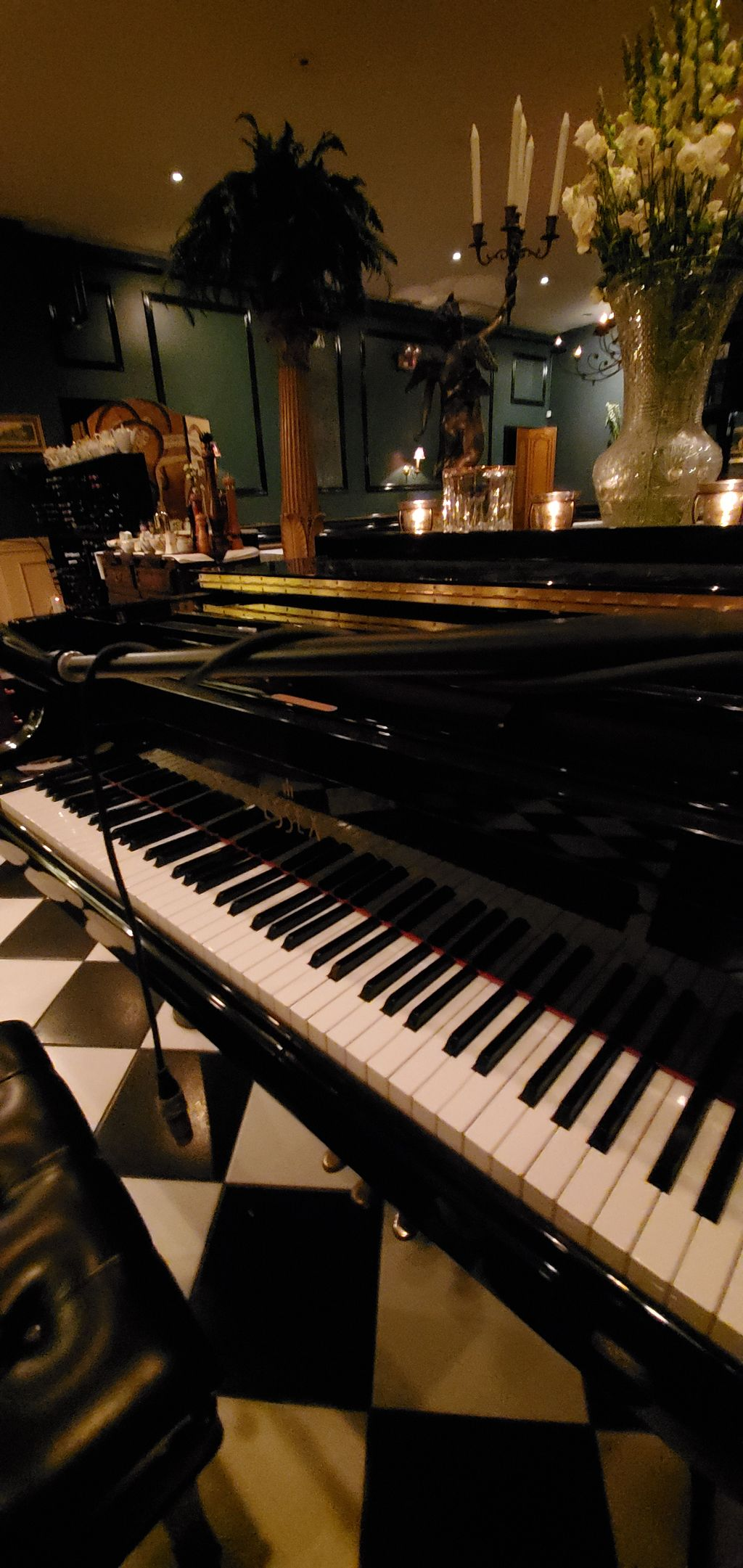 Singer Pianist at fine dining restaurant
