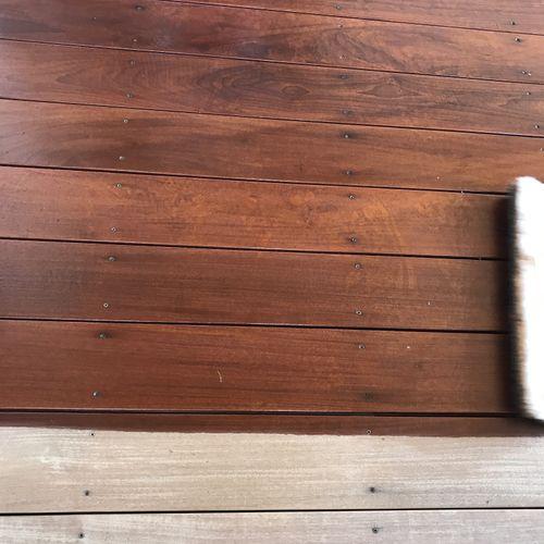 We Stain Decks in Central Oregon