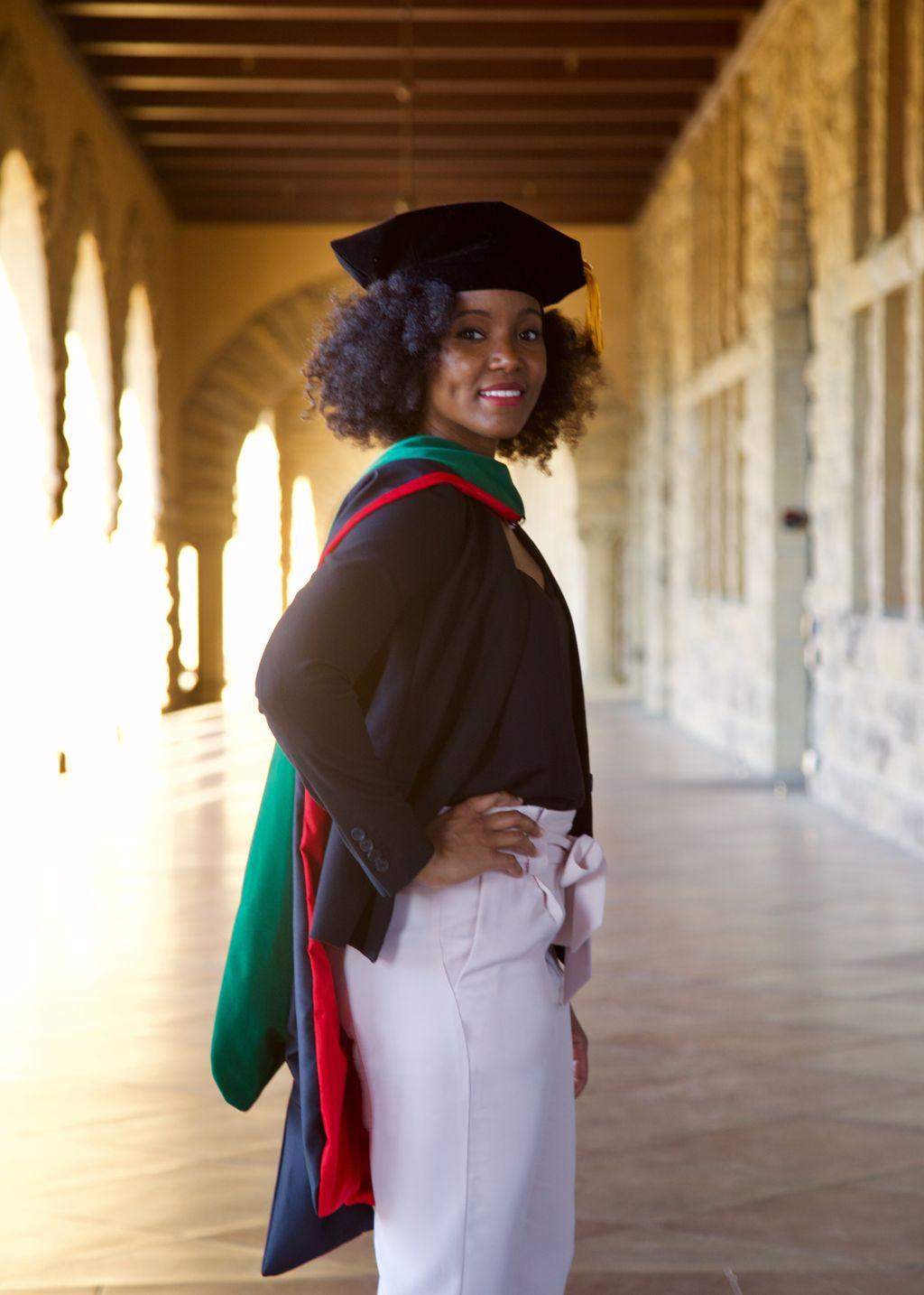 Stanford Medical School Graduation Photoshoot