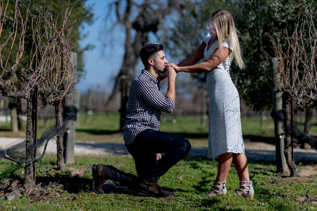 Engagement Sunstone Winery