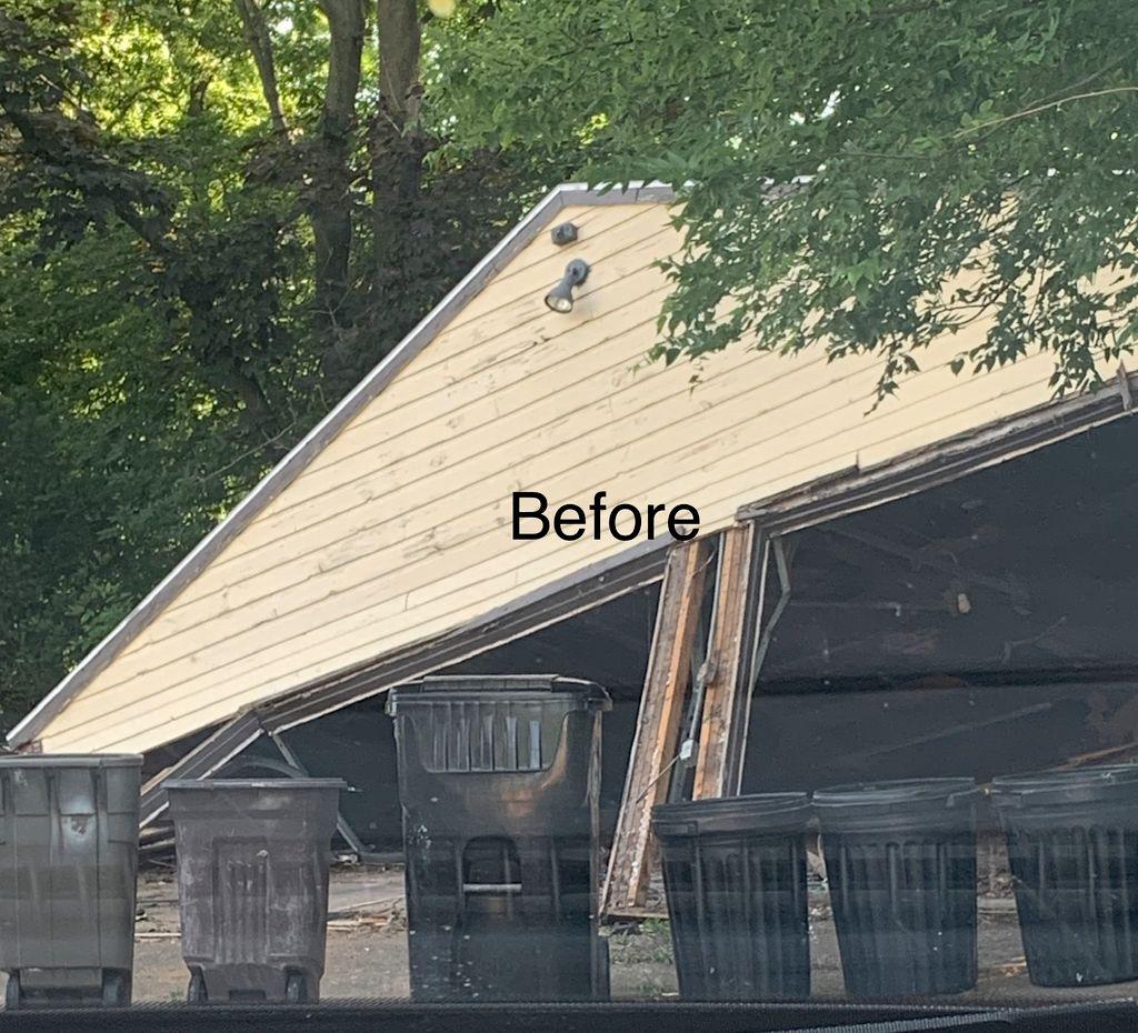 Concrete pour & Garage Build