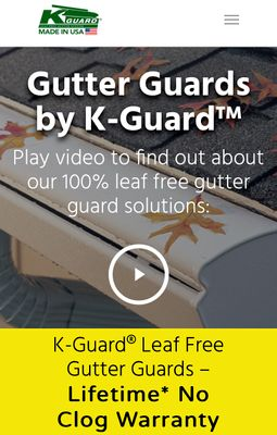 Avatar for K-Guard Gutters