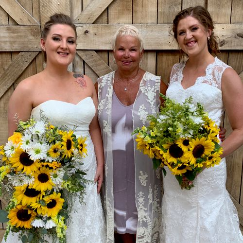Congratulations to Sheena and Brooke.  Many years of happiness!