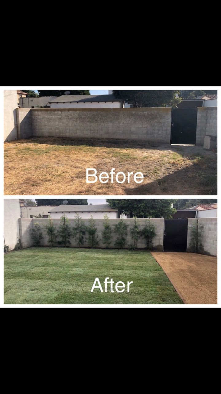 Sprinkler And Sod installation - Los Angeles 2020