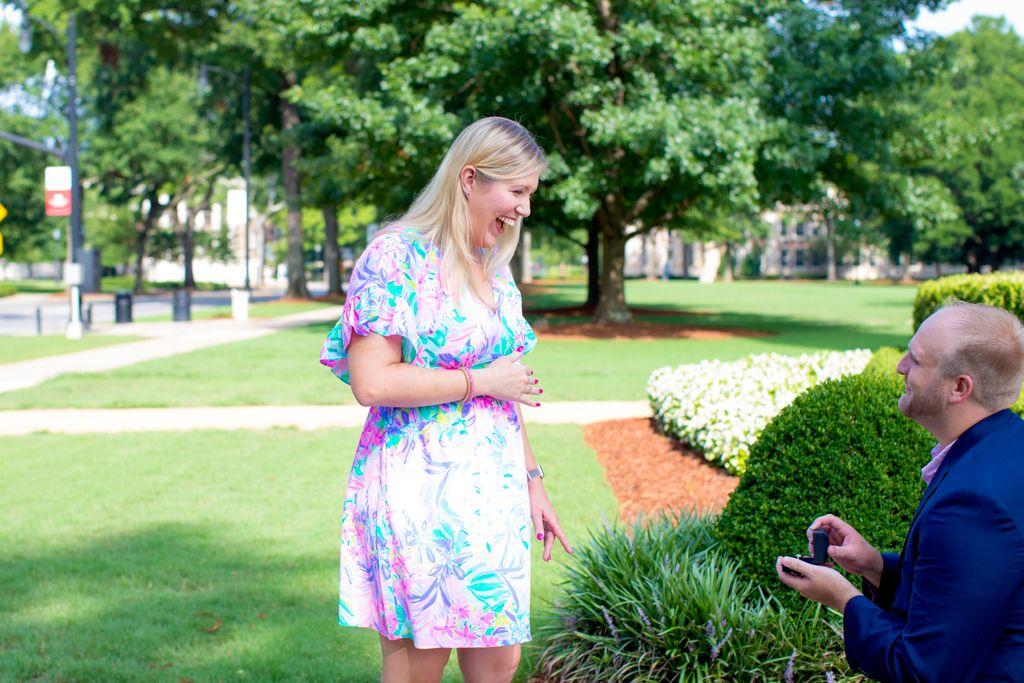 Surprise Engagement Proposal - Tuscaloosa 2020